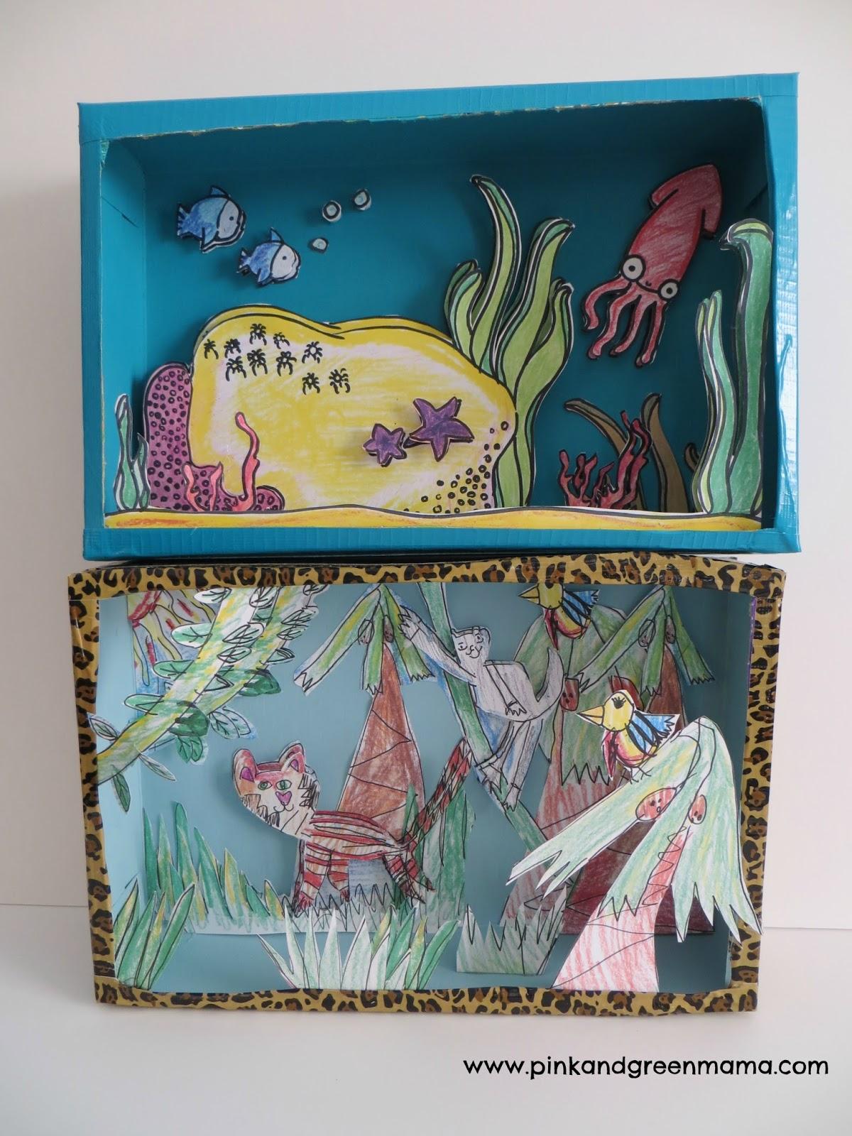 Arts and craft box - Pink And Green Mama Blog