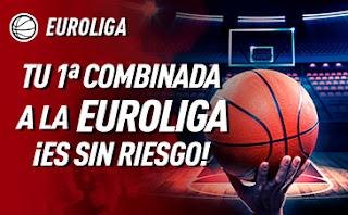 sportium promo Euroliga Sin Riesgo 12-13 diciembre 2019