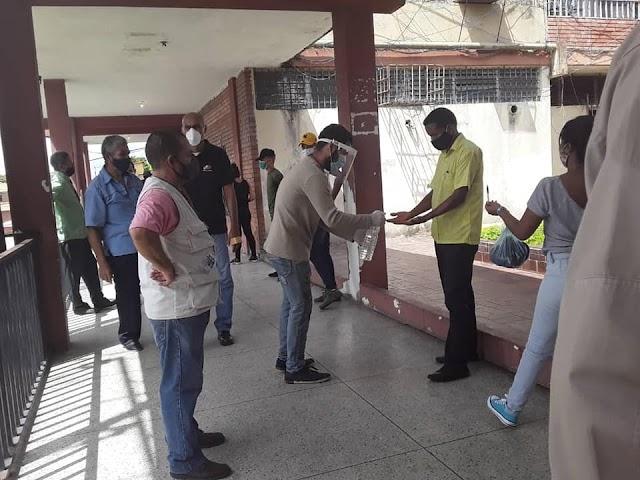 Largas colas en el registro electoral para actualización de datos e inscripción