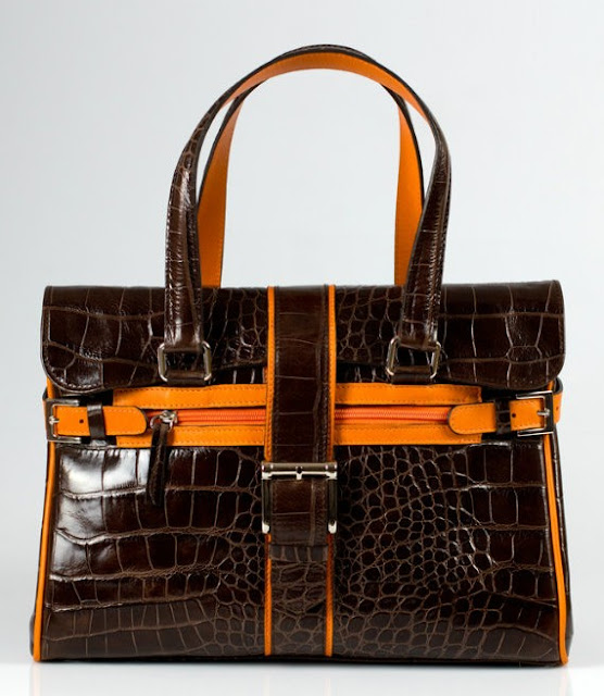 Our handmade crocodile bags are perfect to spice up your work wardrobe