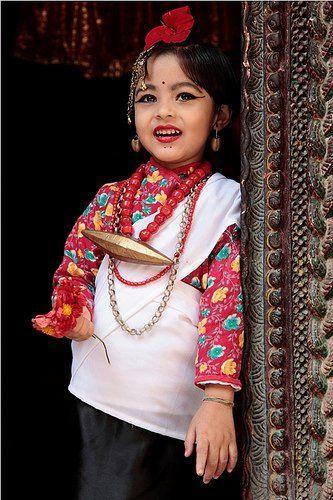10 Newari Culture Dress Children looking So cute