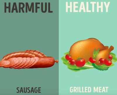 Good Bad food for Health 6