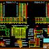 مخطط مبنى سكني متعدد الطوابق مع موقف سيارات اتوكاد dwg