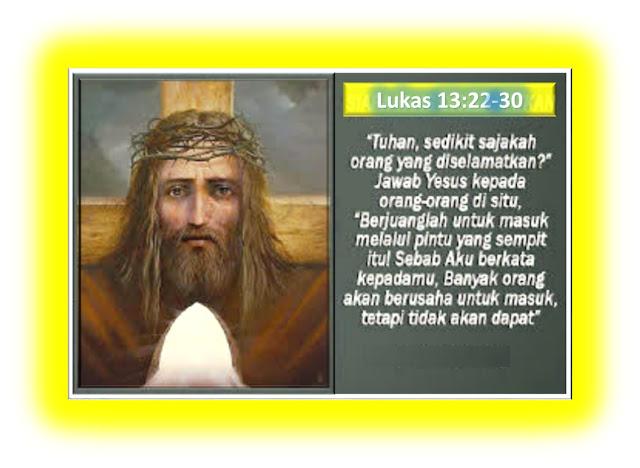 Lukas 13:22-30