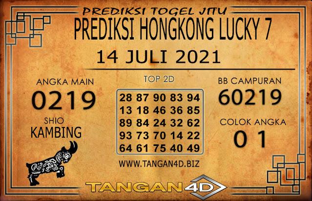 PREDIKSI TOGEL HONGKONG LUCKY7 TANGAN4D 14 JULI 2021
