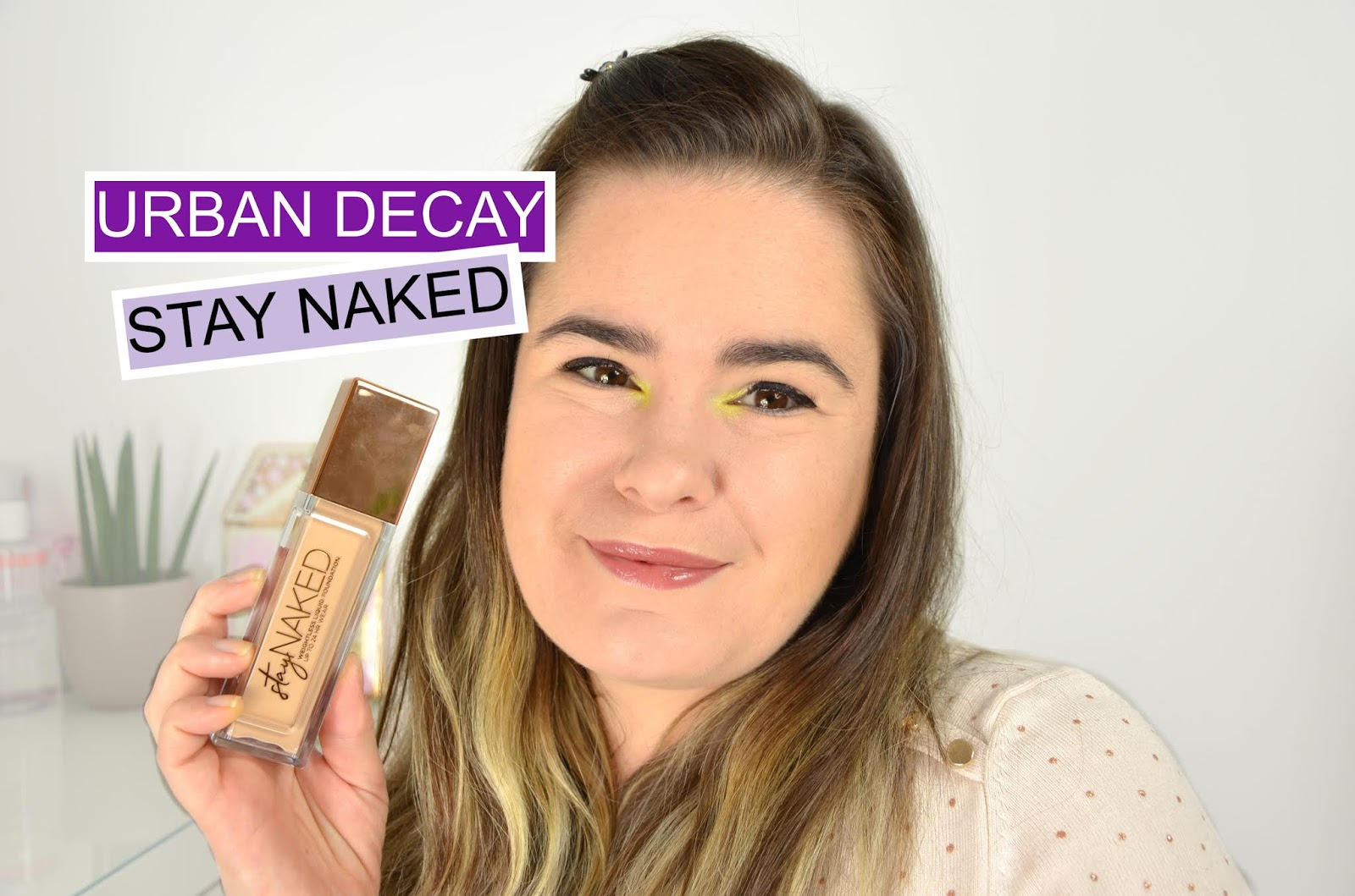 crash test fond de teint urban decay stay naked nouveauté maquillage 2019