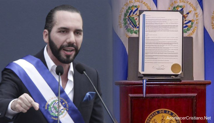 Nayib Bukele decreto legislativo