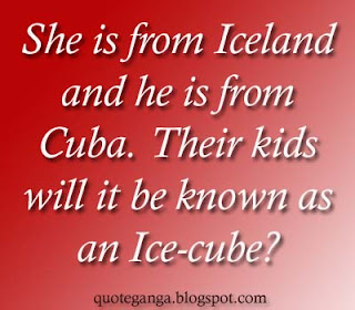 Iceland and Ice-cube
