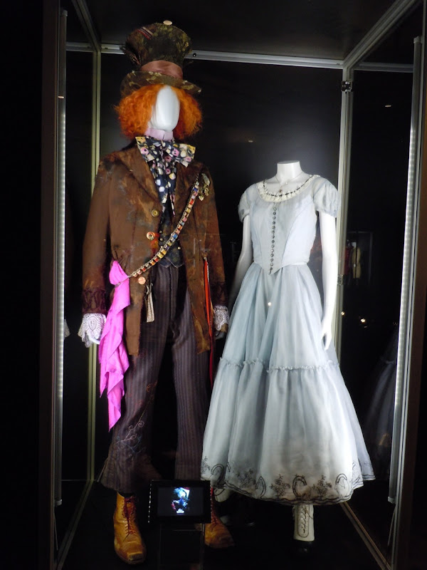 Mad Hatter and Alice in Wonderland costumes