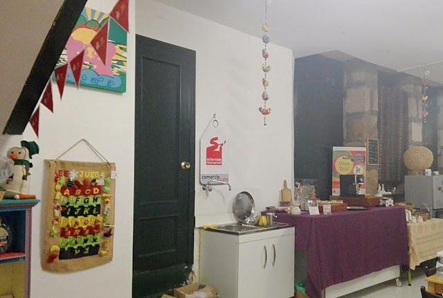 área de café loja comercio xusto Ourense