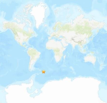Σεισμός 7.6 Ρίχτερ κοντά στα νησιά Σάντουιτς