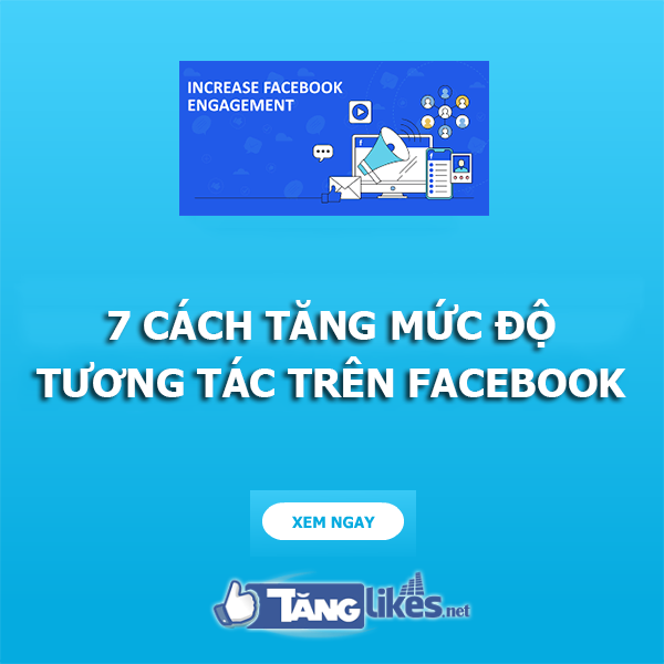 tang tuong tac facebook