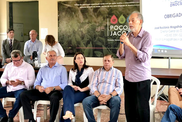 """Nada mudou"": oito meses depois de visita técnica de deputados ao Dnocs e Centro de Pesquisa de Pentecoste"