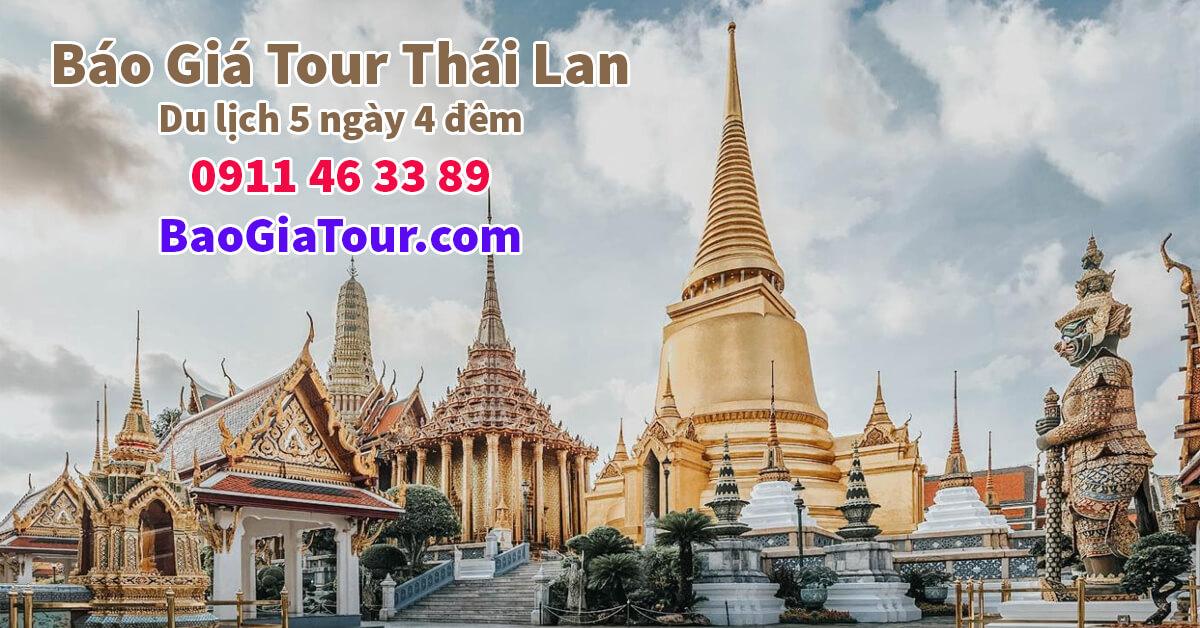 Báo giá tour Thái Lan tháng 10 trọn gói trong 5 ngày 4 đêm