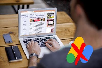 Hilangnya Iklan AdSense Situs KompiAjaib