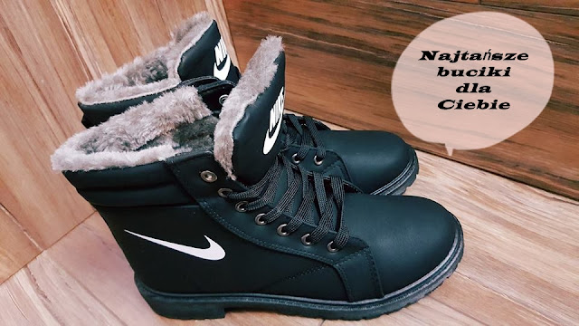 Idealne buty jesienno - zimowe. Najtańsze buciki dla Ciebie.