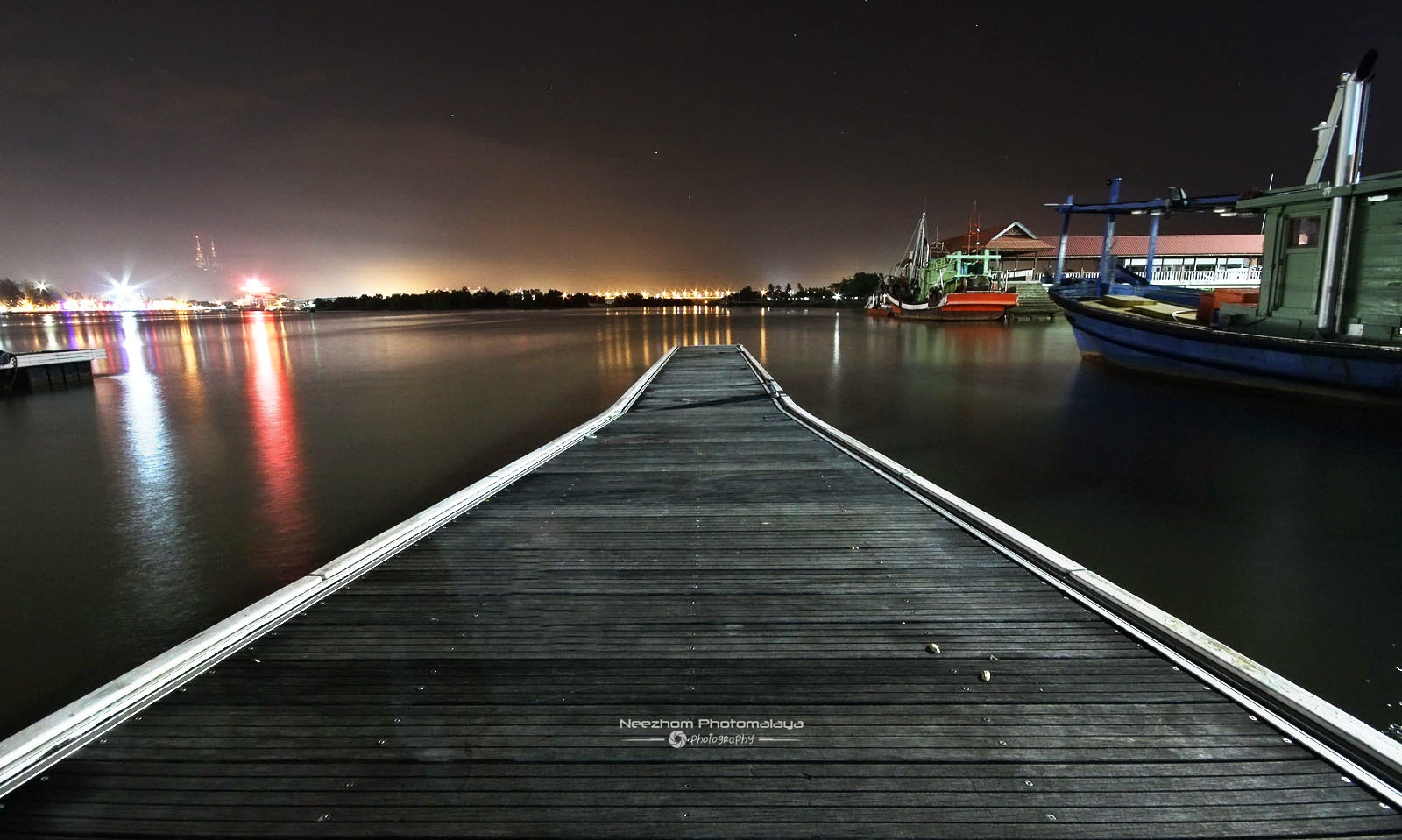 Jeti di Pulau Duyong night shot