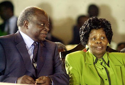 Former First Lady- Lucy Kibaki Critically Sick, Admitted In ICU!