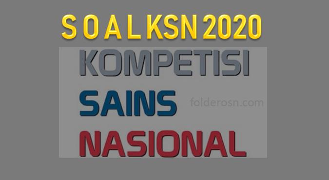 Soal dan Pembahasan KSN SMP Tahun 2020
