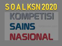 Download Soal dan Pembahasan Simulasi KSN SMP Tahun 2020