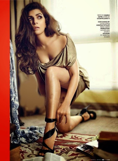 Nimrat Kaur GQ India Full Photoshoot April 2015