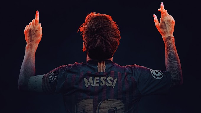 Foto Wallpaper Lionel Messi