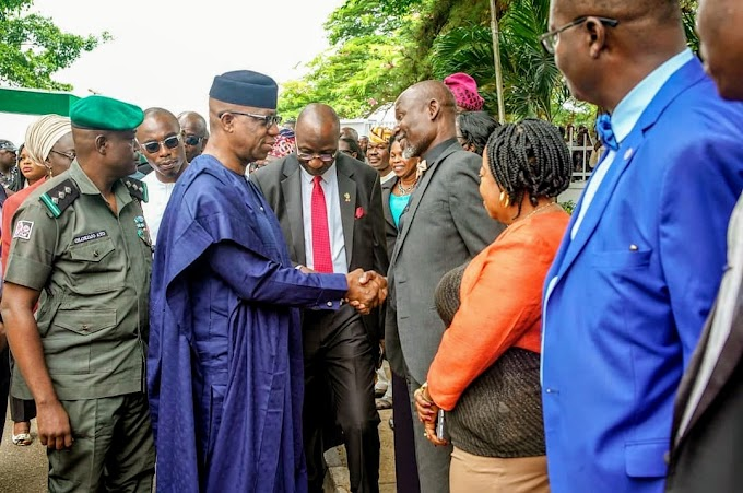 Dapo Abiodun First Day In Office As The Fifth Executive Governor Of Ogun State