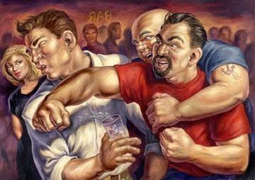 A briga mais extraordinária e cheia de pancadaria envolvendo Homem e mulher