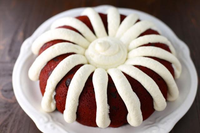 Copycat Nothing Bundt Red Velvet Cake #redcake #desserts
