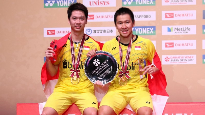 Kevin dan Marcus juara Japan Open Super Series 2017