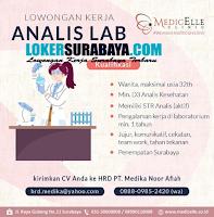 Loker Surabaya di Medicelle Clinic (Woman Health Care Clinic) Oktober 2020