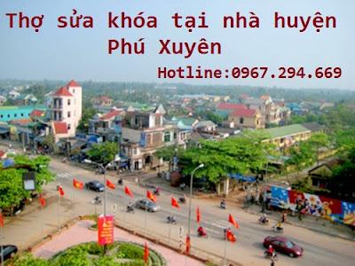 Thợ sửa khóa tại nhà huyện Phú Xuyên