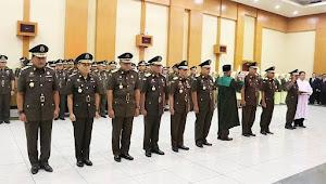 Pergantian Beberapa Pejabat Kejaksaan Agung