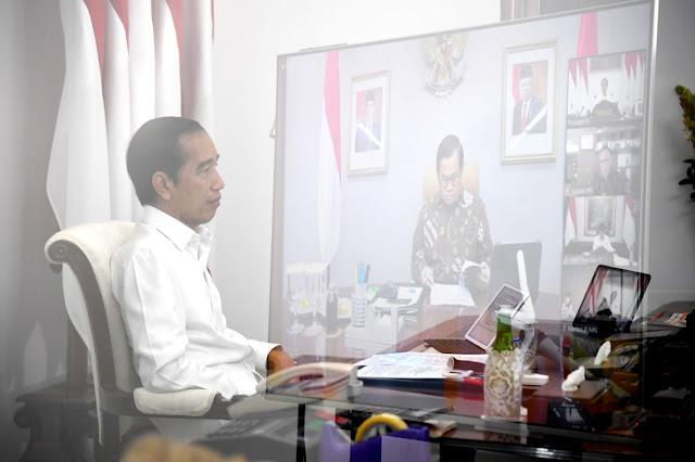 Jokowi Soroti Dana Stimulus COVID-19 Rp695 Triliun Baru Terserap 19 Persen