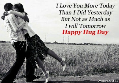 Hug day WIshes quotes images