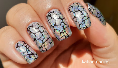 DRK Nails, Holográfico,