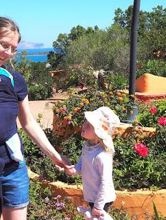 Wir im Familienurlaub auf Sardinien