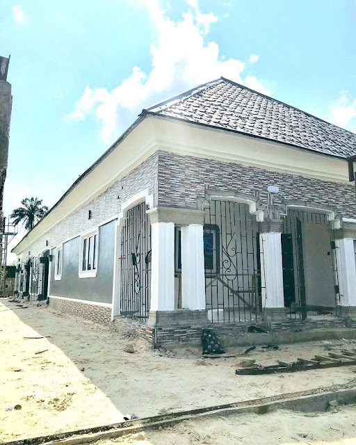Comedian Sirbalo gifts his mother an eight bedroom house (Photos)