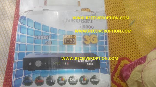 NEOSET I 5000 HD RECEIVER POWERVU KEY SOFTWARE