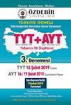 Özdebir Türkiye Geneli TYT AYT 3. Deneme Sınavı PDF