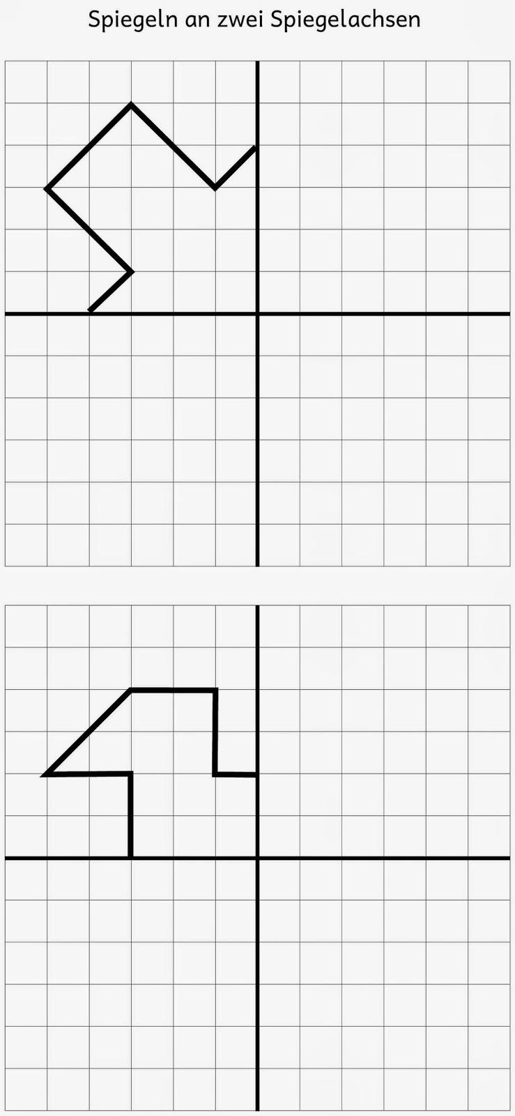 lernst bchen spiegeln an zwei spiegelachsen 1. Black Bedroom Furniture Sets. Home Design Ideas