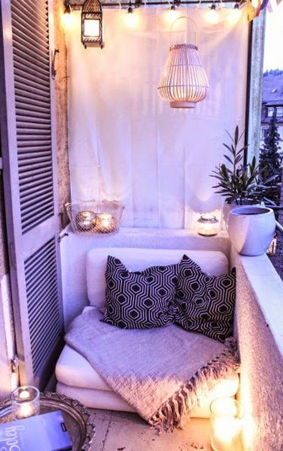 boho-chic home decoration idea