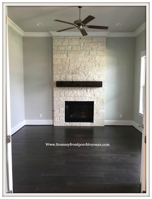 New Construction-Open House-Southern Style-Home-Home Office-Fireplace -From My Front Porch To Yours
