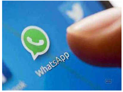 व्हॉट्स अॅप उपयोगकर्ताओं के लिए खत्रोंकी  घंटी'; (अॅप अपडेट करनेकी सुचना)