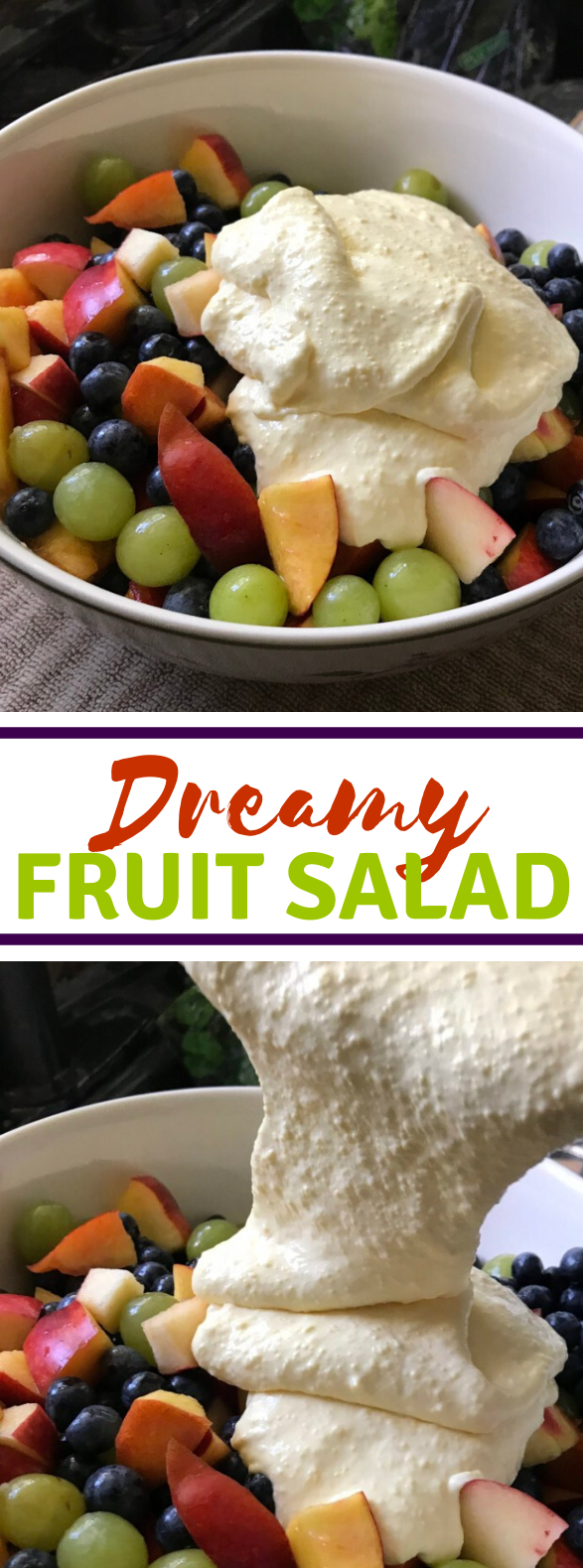 DREAMY FRUIT SALAD #healthier #diet