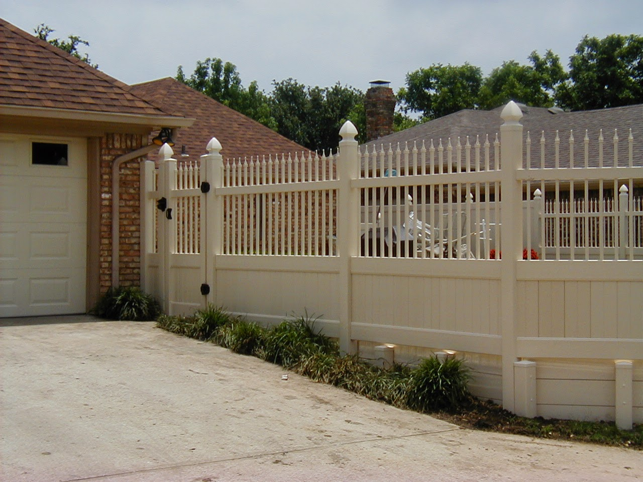 Vinyl Fence Dallas Texas