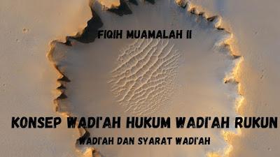 Rukun Wadi'ah