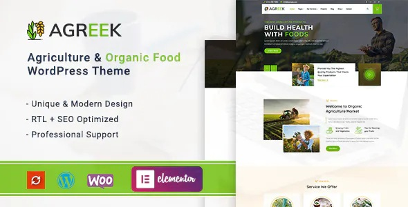 Best Agriculture and Organic Food WordPress Theme
