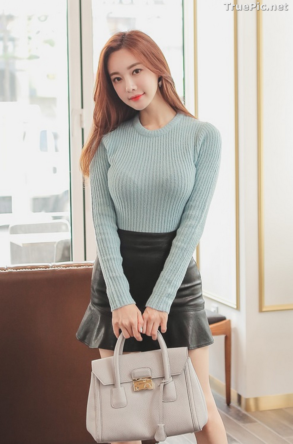 Image Korean Fashion Model – Hyemi – Office Dress Collection #3 - TruePic.net - Picture-2