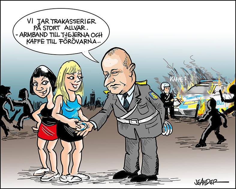 JEANDERS BILDBLOGG: Armband mot tafs..
